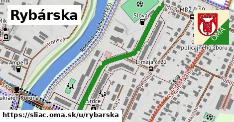 ilustrácia k Rybárska, Sliač - 496m