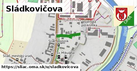 ilustrácia k Sládkovičova, Sliač - 156m