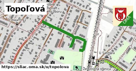 ilustrácia k Topoľová, Sliač - 337m