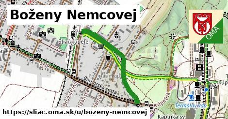 ilustrácia k Boženy Němcovej, Sliač - 665m