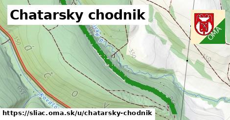 Chatarsky chodnik, Sliač