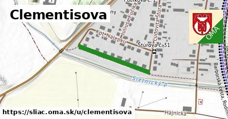 Clementisova, Sliač
