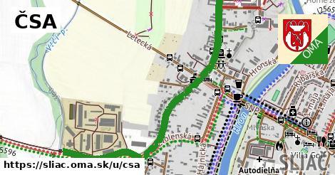 ilustrácia k ČSA, Sliač - 1,45km