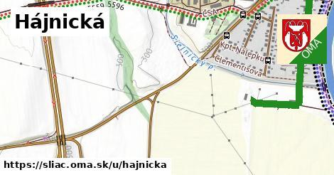 ilustrácia k Hájnická, Sliač - 0,95km