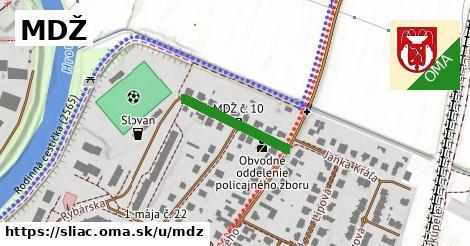 ilustrácia k MDŽ, Sliač - 188m