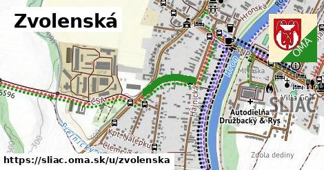 ilustrácia k Zvolenská, Sliač - 267m