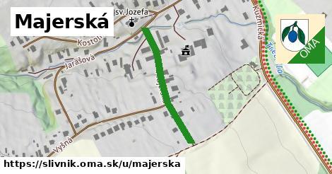 ilustrácia k Majerská, Slivník - 279m