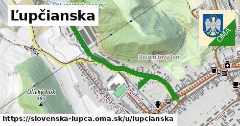 ilustrácia k Ľupčianska, Slovenská Ľupča - 1,10km