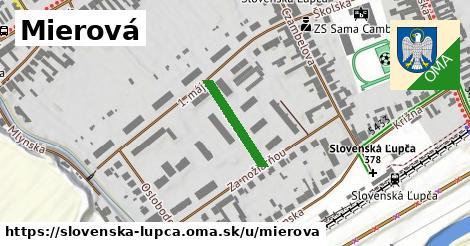 ilustračný obrázok k Mierová, Slovenská Ľupča