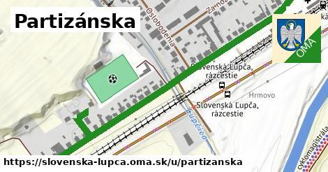 ilustrácia k Partizánska, Slovenská Ľupča - 0,80km