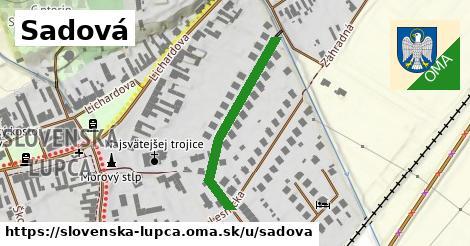 ilustrácia k Sadová, Slovenská Ľupča - 307m