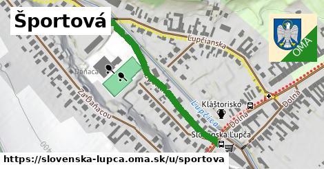 ilustračný obrázok k Športová, Slovenská Ľupča