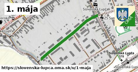 1. mája, Slovenská Ľupča