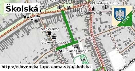 Školská, Slovenská Ľupča