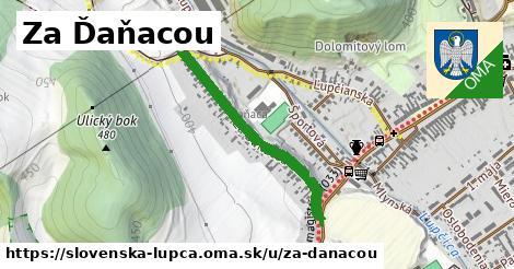 ilustrácia k Za Ďaňacou, Slovenská Ľupča - 658m
