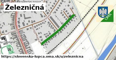 ilustrácia k Železničná, Slovenská Ľupča - 286m