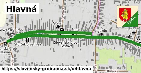 ilustrácia k Hlavná, Slovenský Grob - 1,22km