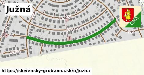ilustrácia k Južná, Slovenský Grob - 501m