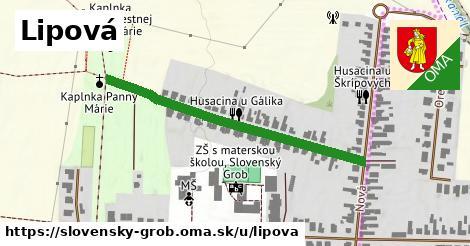ilustrácia k Lipová, Slovenský Grob - 433m