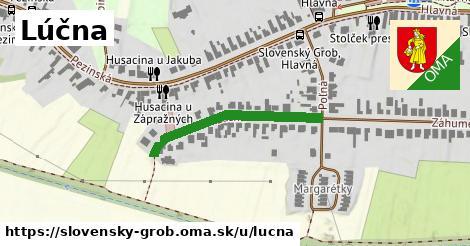 ilustrácia k Lúčna, Slovenský Grob - 256m