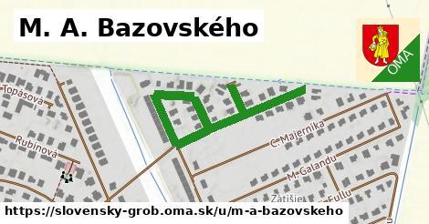 ilustračný obrázok k M. A. Bazovského, Slovenský Grob