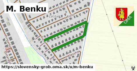 ilustrácia k M. Benku, Slovenský Grob - 525m