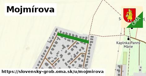 ilustrácia k Mojmírova, Slovenský Grob - 163m