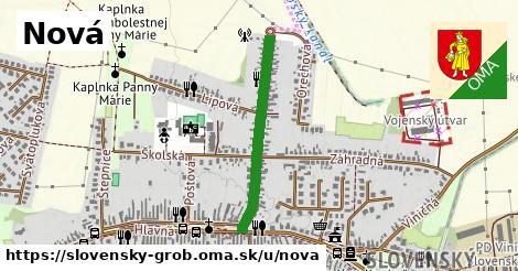 ilustrácia k Nová, Slovenský Grob - 578m
