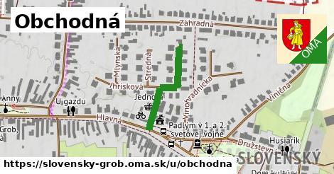 ilustrácia k Obchodná, Slovenský Grob - 424m