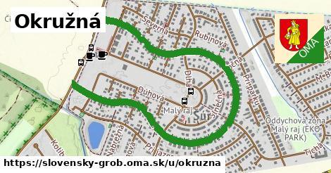 ilustrácia k Okrúžna, Slovenský Grob - 1,75km