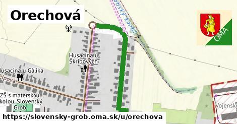 ilustrácia k Orechová, Slovenský Grob - 365m