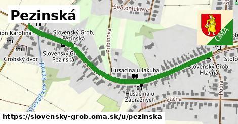 ilustrácia k Pezinská, Slovenský Grob - 650m