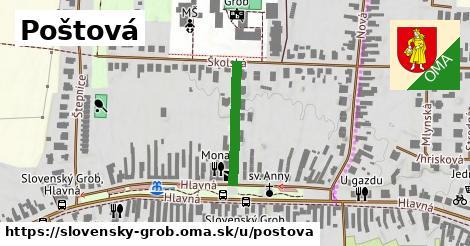 ilustrácia k Poštová, Slovenský Grob - 200m