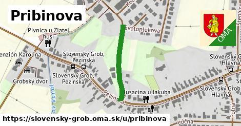 ilustrácia k Pribinova, Slovenský Grob - 244m
