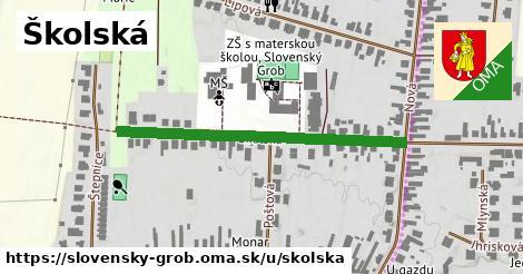 ilustrácia k Školská, Slovenský Grob - 417m