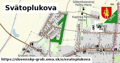 ilustrácia k Svätoplukova, Slovenský Grob - 609m
