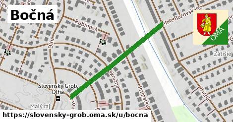 ilustrácia k Bočná, Slovenský Grob - 379m