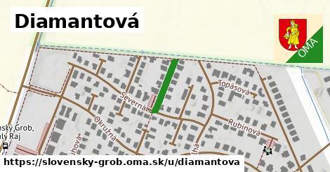 ilustrácia k Diamantová, Slovenský Grob - 129m