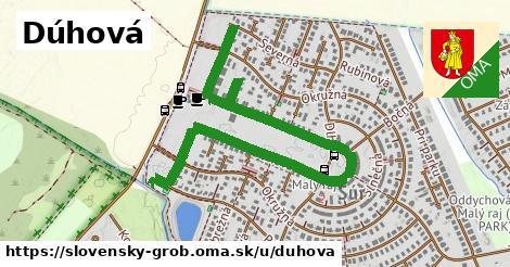 ilustrácia k Dúhová, Slovenský Grob - 1,55km