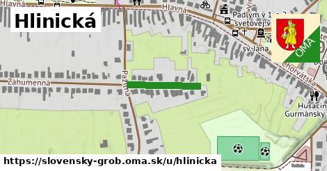 ilustrácia k Hlinická, Slovenský Grob - 167m