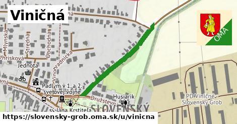 ilustrácia k Viničná, Slovenský Grob - 320m