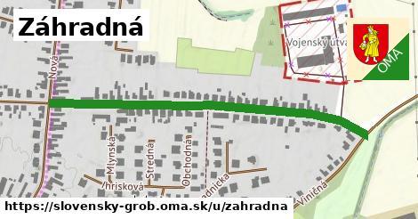 ilustrácia k Záhradná, Slovenský Grob - 575m