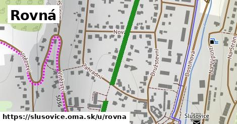 ilustrácia k Rovná, Slušovice - 406m