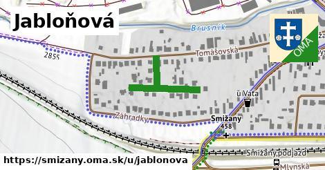 ilustrácia k Jabloňová, Smižany - 173m
