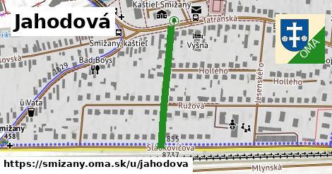 ilustrácia k Jahodová, Smižany - 270m