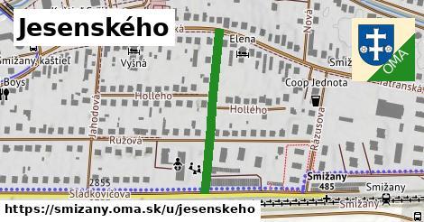 ilustrácia k Jesenského, Smižany - 285m
