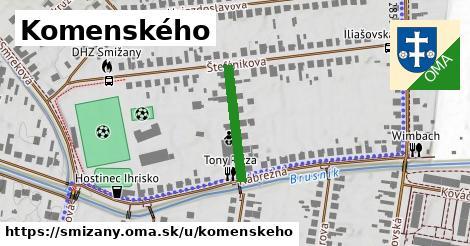 ilustračný obrázok k Komenského, Smižany