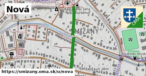 ilustrácia k Nová, Smižany - 331m
