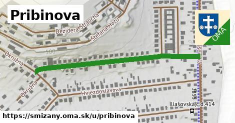 ilustrácia k Pribinova, Smižany - 526m