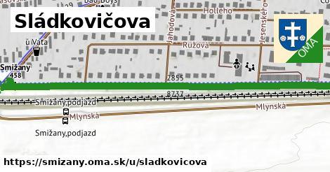 ilustrácia k Sládkovičova, Smižany - 0,76km